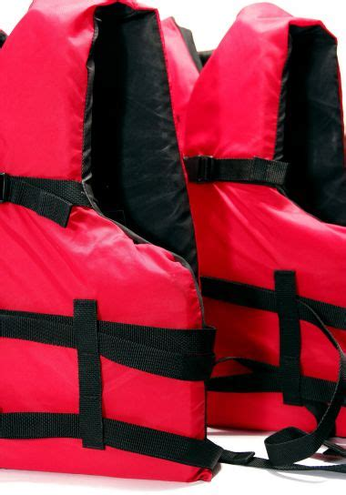 picture life vest life jacket bright red