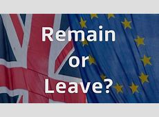 Remain or Leave Which EU question do you want answered