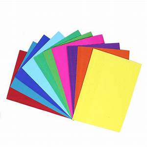 Corrugated Coloured Paper A4 10 Pack Hobbycraft