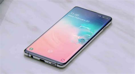 samsung galaxy s10 and s10 will come with a screen