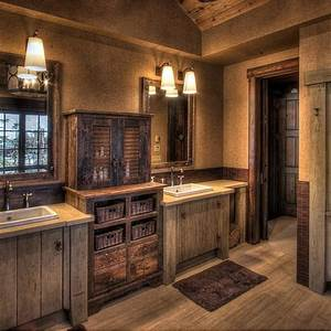 attractive rustic bathroom vanities tedxumkc decoration With kitchen cabinet trends 2018 combined with bourbon barrel wall art