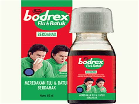 bodrex flu batuk 9 obat batuk berdahak paling ampuh di apotik 5 obat