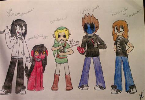 Creepypasta Characters 1 By Nayacat On Deviantart