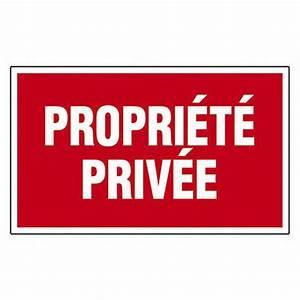 Ma Maison Privée : plaque propri t priv e en plastique leroy merlin ~ Melissatoandfro.com Idées de Décoration