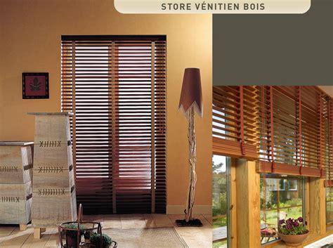 store vénitien bois store azur store venitien bois