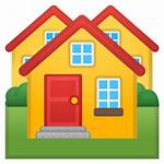Rumah Gambar Emoji Icon Ikon Denah Casas