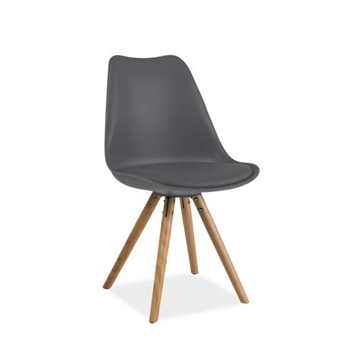 chaises 4 pieds chaise scandinave dsw design eames 4 pieds bois blanc