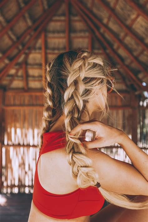 chic double braided hairstyles   love styles