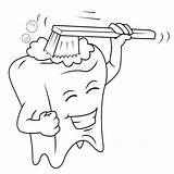 Clipart Dentist Teeth Coloring Brush Colouring Transparent Cartoon Dental Games Webstockreview Drawings Smile Gap Pngfind sketch template