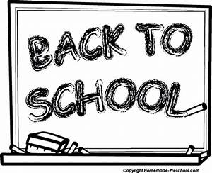 Back to school school clipart black and white education ...