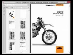 Ktm 250 Exc-f Xcf-w  2014  - Service Manual