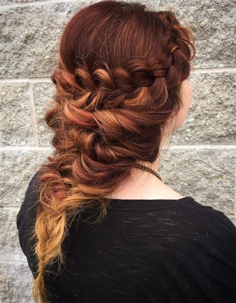 dutch braid inspired hairstyles