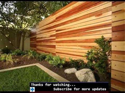wood fence designs fences gates design  outdoor garden youtube
