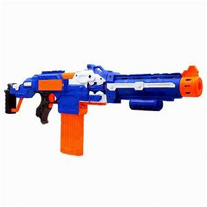 Toy Sniper Rifle Nerf Gun Bullet Toy Gun Electric Soft ...