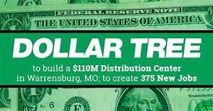 Dollar Tree Careers Dollar Tree To Create 375 New Jobs In Warrensburg