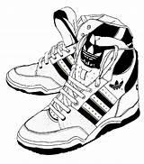 Adidas Coloring Ausmalen Cartoon Drawing Boot Malvorlagen Deviantart Colorare Scarpe Malen Ausmalbilder Diverse Disegni Gratis Malvorlage Sketch Schuhe Sneaker Nike sketch template