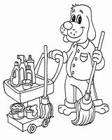 Coloring Pages Cleaning Cleaner Vacuum Uniform Mop Clean Printable Supplies Template Cleanitsupply Children Sketch Getcolorings Abs Getdrawings Print Colorings sketch template