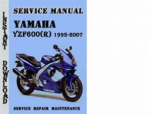 1995 Yamaha Yzf600r Service Manual