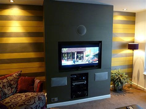 Mounting a TV and wall paper job   Carpentry & Joinery job