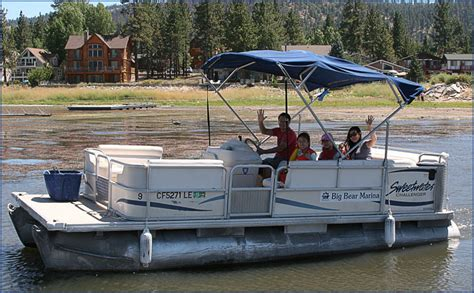 Canyon Lake Pontoon Rentals by Big Bear Marina Boat Rentals For Pontoon Fishing