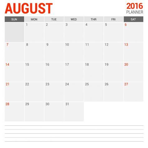 baixar calendario de agosto de 2016