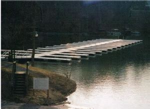 cleaning  floating dock lakeside dock sales service
