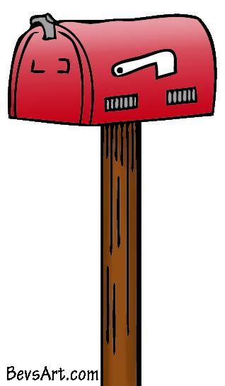 Mailbox Clipart Free Mailbox Clipart Pictures Clipartix