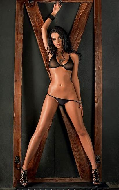 Lingerie Heels Through Brunette Legs Russian Looking