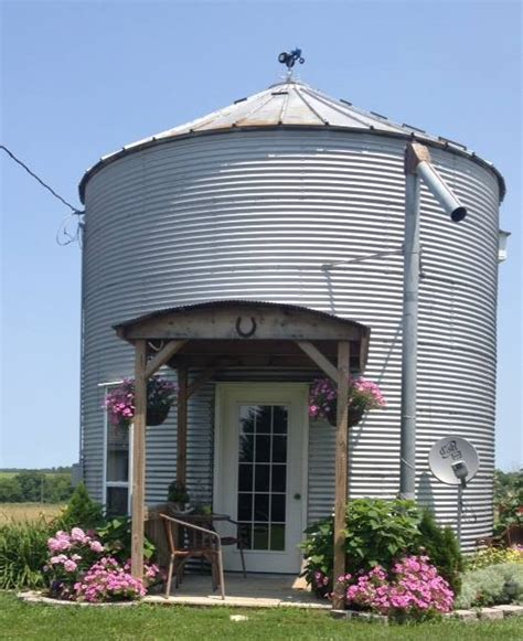 Grannys Country Cottage Is A Grain Bin Bed And Breakfast