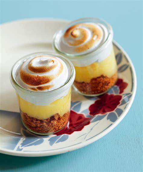 cuisine de bernard tarte au citron tarte au citron meringuée et spéculoos en verrine