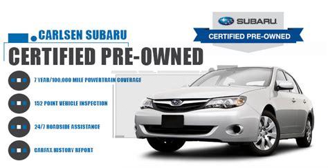subaru certified  cars serving san francisco  san
