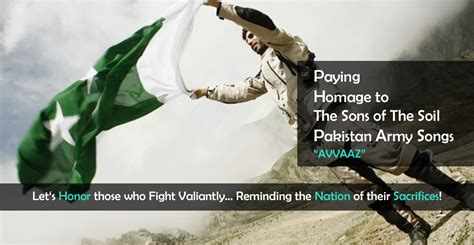 paying homage   sons   soil pakistan army