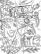 Coloring Pages Luau Hawaii Printable Mycoloring Colors Birthday Site Coloring2print sketch template