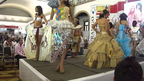 trajes ecologicos 2012 quot srita agua durango youtube
