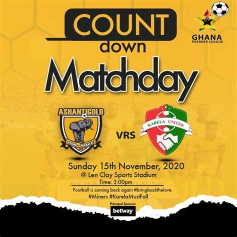 2020/21 Ghana Premier League: RESULT - Relive updates ...