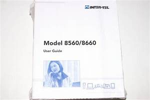 Inter  8660 User Guide 10 Pack 550 8113 Intertel