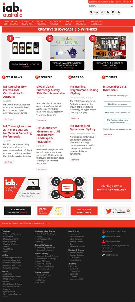 the interactive advertising bureau iab helpwise website services
