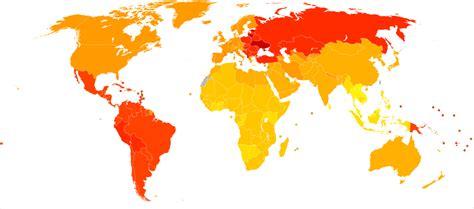 römer i size file rheumatoid arthritis world map daly who2004 svg wikimedia commons