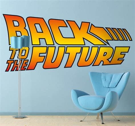 Back To The Future Wall Sticker  Tenstickers. Skiing Murals. Postpartum Signs. Museum Signs. Witchcraft Signs. American Bully Logo. Murals To Go. Dumbbell Logo. After Tonsillectomy Signs