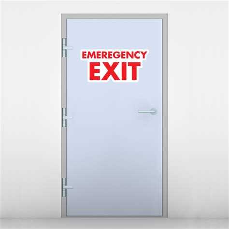 floor and decor reviews emergency exit signs emergency exit stickers