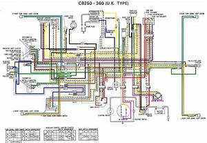 Wiring Diagram Honda Rebel 250