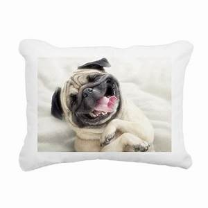 Funny dog rectangular canvas pillow by listing store 124728650 for Canvas dog pillow