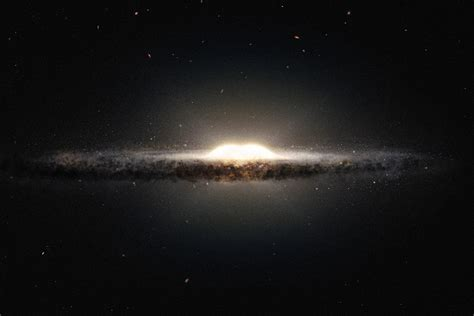 How Is The Milky Way Formed by Milky Way S Bulge May Have Been Formed By The Galaxy