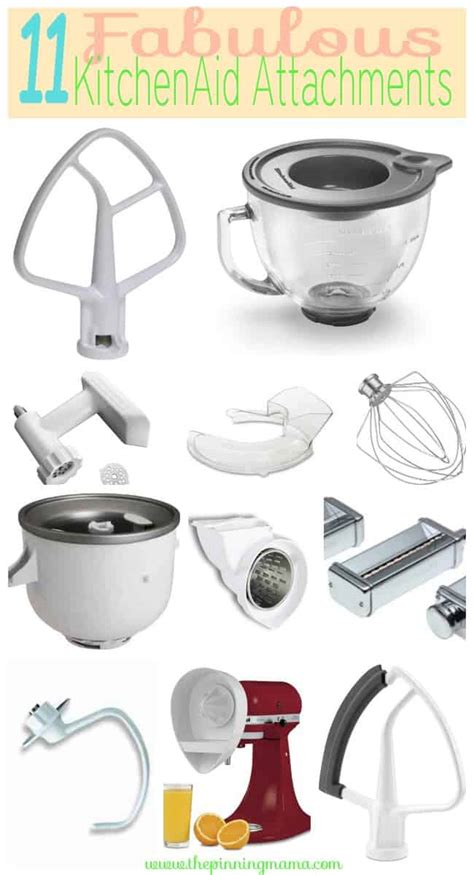 Kitchenaid Stand Mixer Attachments by 11 Fabulous Kitchenaid Mixer Attachments You Probably Need