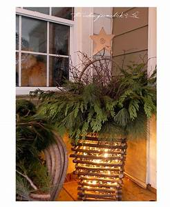 Cottage, Style, Christmas, Decorations