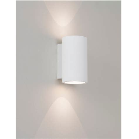 wandleuchte up and moderne led wandleuchte up and downlight gips wei 223