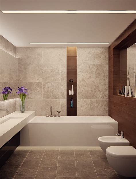 bad modern gestalten mit lichtmodernes badezimmer mit