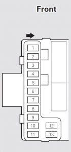 acura mdx 2005 2006 fuse box diagram auto genius