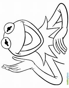 Free kermit the frog coloring pages