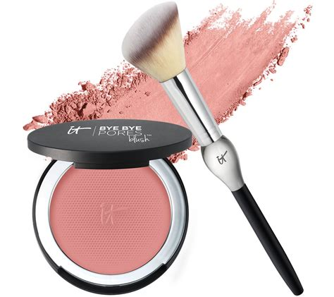 decorations for a kitchen it cosmetics bye bye pores anti aging silk pressed blush w